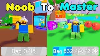 Noob To Master! Got Best Vacuum & Best Pack! Rebirth! Unlocked All Areas - Vacuum Simulator