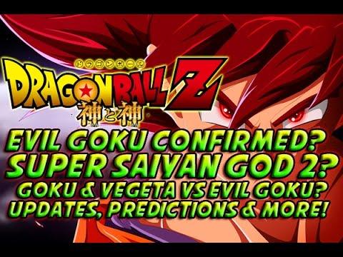DRAGONBALL Z 2015 MOVIE! - Evil Goku Confirmed? Super Saiyan God 2? Goku Vs Goku & More!