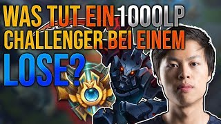 Was tut ein 1000LP Challenger bei einem Lose? [League of Legends] [Deutsch / German]