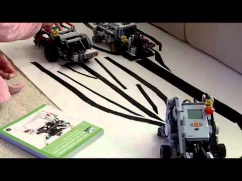 Robot Auto Racing Simulator on Racing Nxt Robots   High   Speed Pass