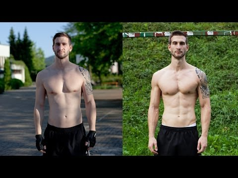 MY 15 WEEKS BODY TRANSFORMATION with FREELETICS