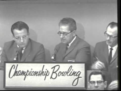 Championship Bowling: Fred Lening vs Johnny Guenther [1964-1965]