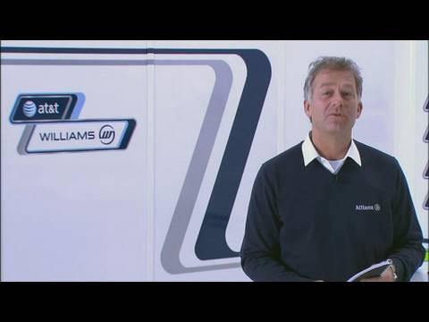Formel 1 2010: Motorvision, Christian Danner und Nico Hülkenberg stellen den neuen Williams vor