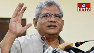 Sitaram Yechury Re-elected CPI(M) General Secretary | hmtv