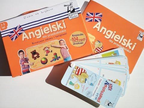 KAPITAN NAUKA Angielski Dla Przedszkolaka. Kreatywne Zabawy I łamigłówki - RECENZJA