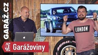 GARÁŽoviny #12 - Ruský sporťák, pocket rocket od Astonu, Škoda Rapid končí a opilé autonomní auto