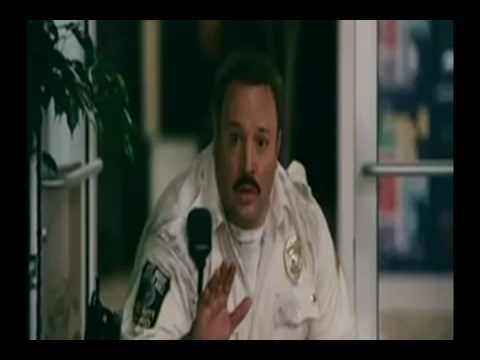 Paul Blart: Chimpanzee Riding On A Segway