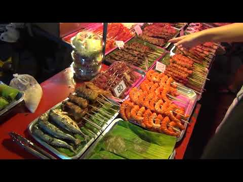 Уличная еда в Таиланде. Ассортимент, приготовление, дегустация
