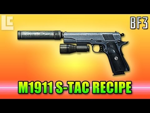 Cooking Up The M1911 S-TAC (Battlefield 3 Gameplay/Commentary)