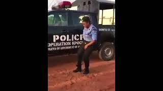 Dancing Nigeria Police Woman