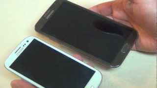 Galaxy Note II VS Galaxy S III - Comparativas