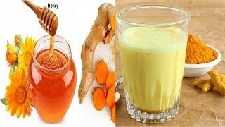 Home Remedies|Health Benefits of Turmeric Powder milk with honey |Health Tips