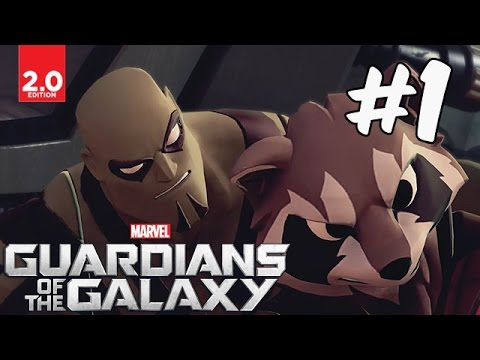 Guardians of the Galaxy - Part 1 (Spatial Delivery, Lets Be Clear) Disney Infinity 2.0