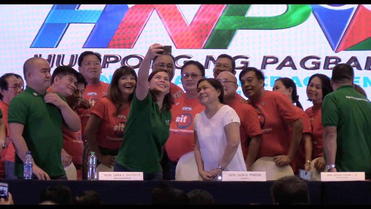 Hugpong ng Pagbabago signs alliance with 6 local, 3 national parties