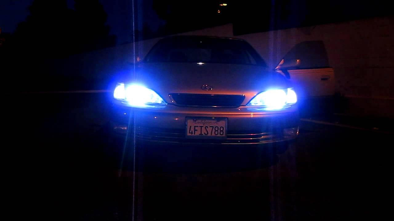 99 Lexus Es300 Hid Kit 35w High Intensity Led Fog Led