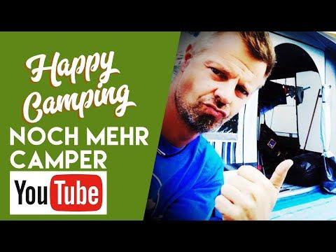 Happy Camping in Die Besten YouTube-Kanäle für Camper - #4