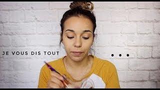 Chit chat Makeup , La raison de mon absence ? Je quitte youtube ? // Beauty's ines