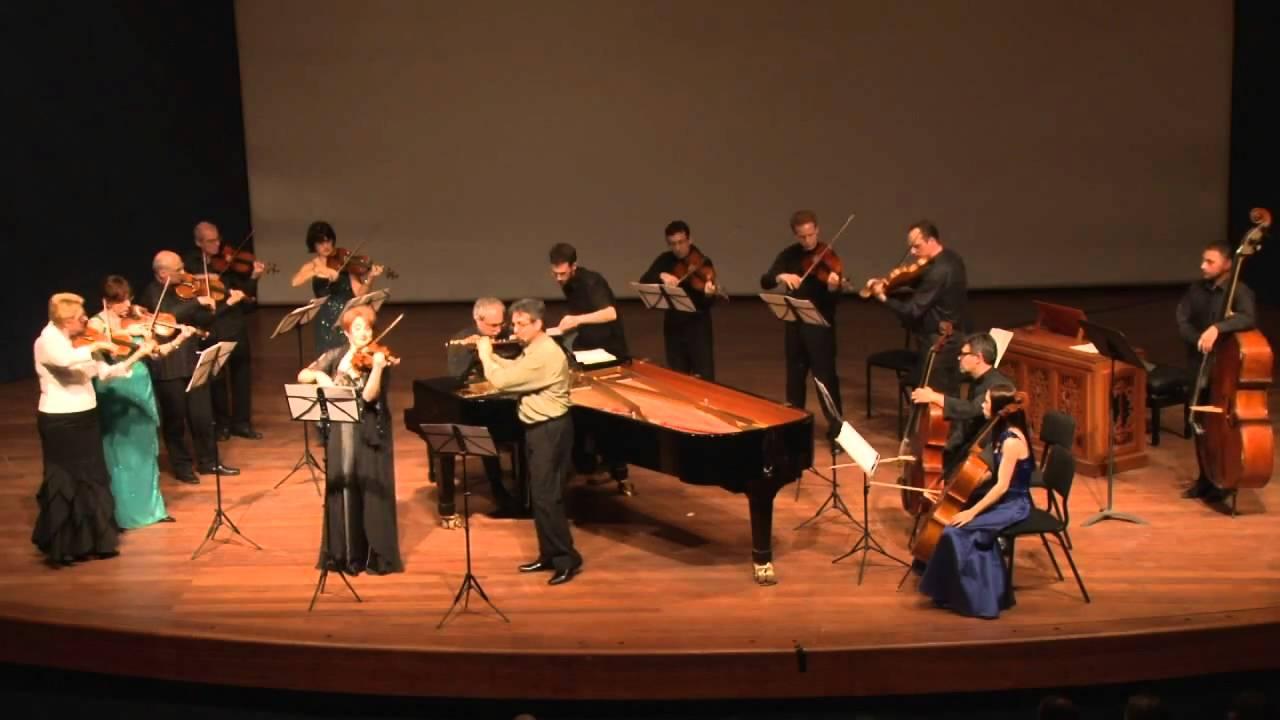 JS Bach: Brandenburg Concerto No 5 - Todd Tarantino