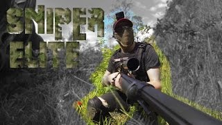 GUARDANDO A BOMBA l SNIPER ELITE l AIRSOFT GAMEPLAY I OPS FIELD BASE ALPHA