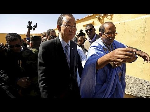 Ban Ki-moon tours western Sahara refugee camp to push for negotiations