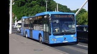 Budapest,110.-es busz (Thomán István utca-Bosnyák tér) bus line 110.