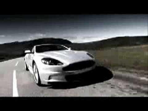 Aston Martin DB9 on