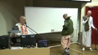 2012.10.25. 'Love Seminar'  University of Technology Tallinn, Estonia