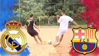 ⚽ Desafio de Futebol ▶ Real Madrid vs Barcelona ▶ El Classico