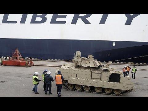 مناورات عسكرية في دول البلطيق تحت اشراف واشنطن والأطلسي