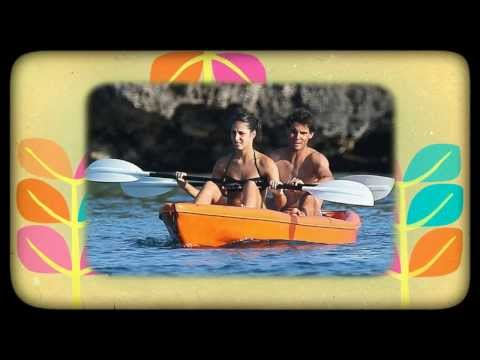 Rafa Nadal Vacations with Girlfriend