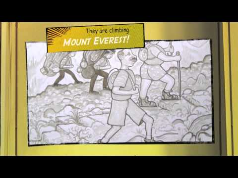 Improve English Through Writing – Adventure Story Builder – 1 – Up We Go! – 2 – EnglishAnyone.com