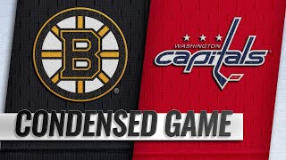 10/03/18 Condensed Game: Bruins @ Capitals
