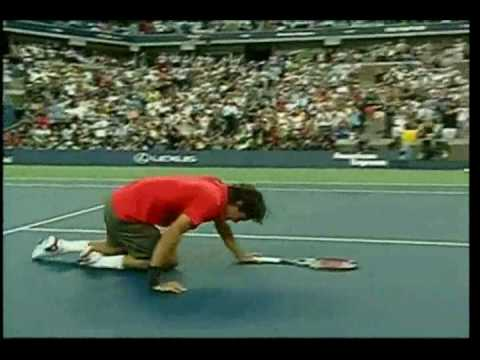 Roger Federer - US OPEN 2008 against 7 opponents
