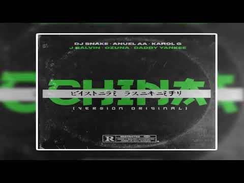 Dj Snake, Anuel AA, Karol G, J Balvin, Ozuna, Daddy Yankee - China (Version Original)