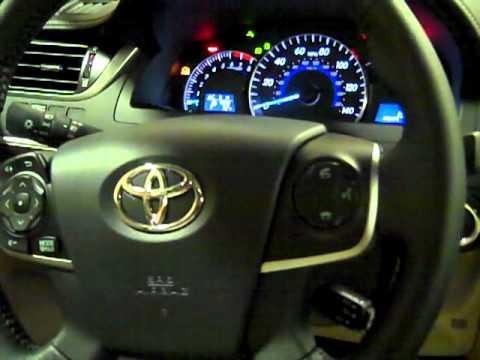 2012 Toyota Camry Xle Interior Tour Jon Lancaster Toyota