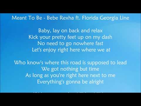 Cover Lagu Meant To Be - Bebe Rexha ft.  Florida Georgia Line Lyrics
