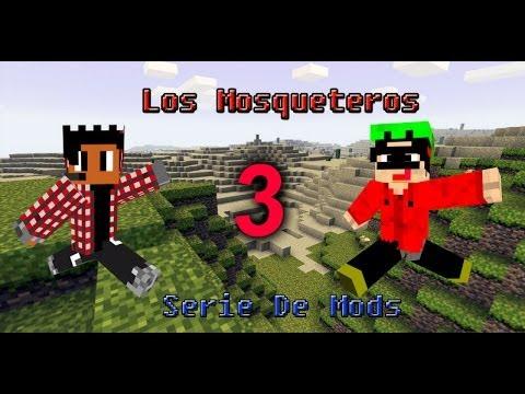 Los Mosqueteros #3: Ya tenemos Casa (Minecraft Serie de Mods)