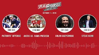 SPEAK FOR YOURSELF Audio Podcast (10.11.19)with Marcellus Wiley, Jason Whitlock | SPEAK FOR YOURSELF