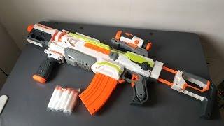 Súng Nerf Gun Bắn Pin Modulus ECS 10 Mở Hộp Và Test