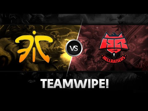 Teamwipe by Fnatic vs HR @ SLTV StarSeries X