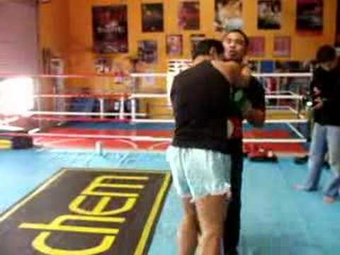 Muay Thai defense offense drills Image 1