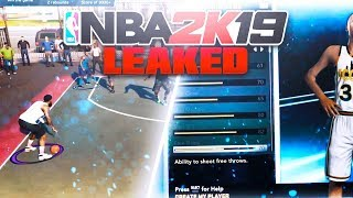 NBA 2k19 *New* PARK Gameplay info LEAKS! 😳 Best 2k Comin🤔