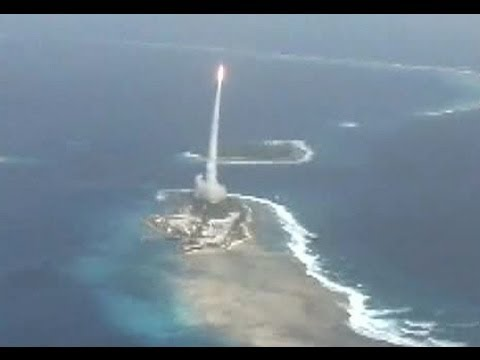 U S Ballistic Missile Defense System Target Launch And