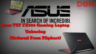 Asus Tuf i5 8th Gen FX504GD Gaming Laptop unboxing
