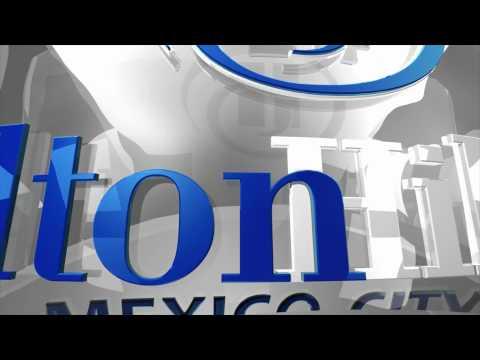 Producción Logotipos animados 3D para EMPRESA NEGOCIO muestra Hilton