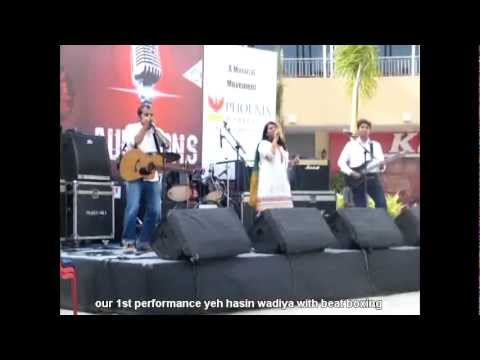 our 1st performance yeh hasin wadiya with beat boxing
