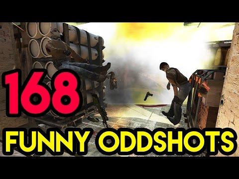 CS:GO - BEST ODDSHOTS #168