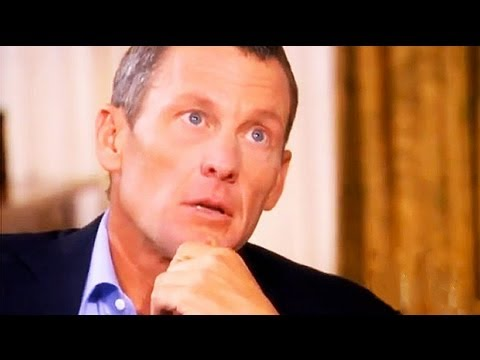 Lance Armstrong on Oprah: cyclist close to tears over son
