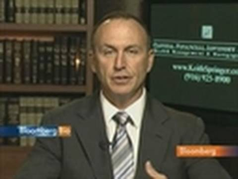 Springer Sees U.S. GDP Missing Forecasts as Demand Wanes: Video