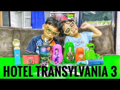 Mainan McDonald Happy Meal Hotel Transylvania 3 Lengkap